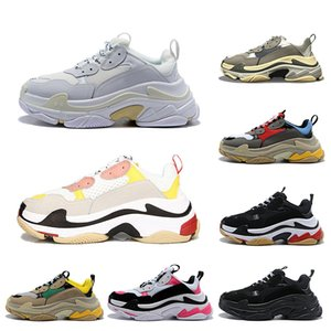 chaussures balenciaga 2019 Multi Luxo Triplo S Designer Low New Chegada Sneaker Combinação Solas Botas Mens Womens Runner Shoes Top Quality Sports Calçados Casuais