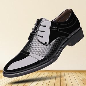 Crystal2019 Adams Haziran Özel Sonbahar Adam Seksi İş Işleri Doğru Elbise Deri Ayakkabı Erkek Ayakkabı Tek Düğün Ayakkabı Ayakkabı