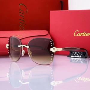 Gölge Gözlük Tasarımcı Gözlük Güneş Glass Sürüş Bayan Wood Ve Doğa Buffalo Horn Sunglasse Erkek için Çerçevesiz Güneş gözlükleri en çok satan