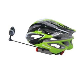 Casco da bicicletta Specchio posteriore Vista posteriore Guarda Perception rotativo da 360 gradi Lunghezza registrabile della protezione di sicurezza Sinistra Destra