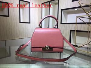 100% real leather 2018 brand handbags High quality fashion mini single shoulder bag designers inclined shoulder bag Free shipping