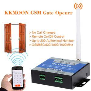 Sem fio GSM Porta Portão abridor Relé Controle Remoto On / Off Switch balanço Telefonar grátis Para estores eléctricos Deslizando portas de garagem porta abridor