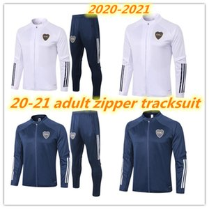 2020 2021 Boca Juniors jacket adult tracksuit 20 21 Boca Juniors full zipper football training set GAGO TEVEZ PAVON training suit