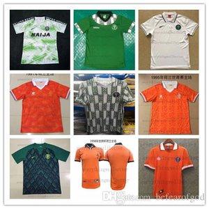 1998 Dutch retro jersey 1991 casa 1,995 1,997 Nigéria jersey 18-19 nigeriana camisa camisa dos homens e mulheres de 2018 de formação nigeriana terno polos