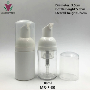 FreeShip 12pcs lot 30ml 50ml 60ml 100ml 150ml 200ml white clear soap dispenser foam pump plastic bottles foaming pump bottle