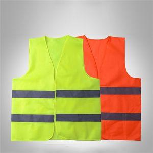Светоотражающий жилет движения Склад Безопасность Безопасность Светоотражающие безопасности Vest сейф Рабочая одежда Ночник защитная сетка костюм T9I00227