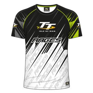 Campione dell'Isola di Man TT Superbike Michael T-shirt Motocicletta Racing SBK XC DH MTB Dirt Motocross Short Jersey