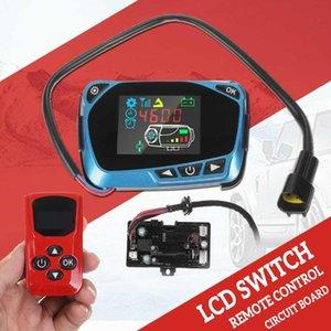 에어 디젤 주차 히터 12V 24V LCD 컨트롤러 스위치 어머니 보드 에어 모니터 스위치 키트