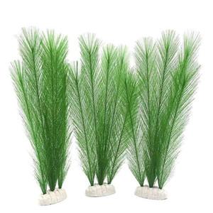 수 식물 인공 수생 식물 피쉬 탱크는 플라스틱 잔디 치킨 테일 잔디를 장식 C19041302