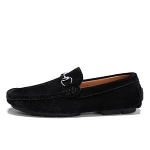 Zapatos de vestir para hombre, cadenas de zapatos de nudo, caballeros, zapatos de caminata, zapatos de respiración casual para hombres zy956