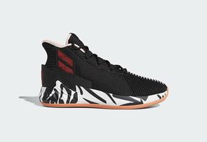 nuove scarpe D Rose 9 Zebra per la vendita di trasporto scarpe da basket deposito Migliore Derrick Rose US7-US11.5