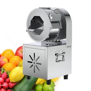 78kg   h output capacity vegetable bowl cutter machine Multi-function vegetable cutting machine shallot onion dicing machine