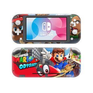 Super Mario Odyssey Skin Sticker Decal For Nintendo Switch Lite Console & Controller Protector Joy-con Switch Lite Skin Sticker
