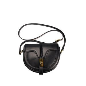 Luxury designer's latest hand-made semi-circular saddle leather small bag 2020 new one-shoulder cross-body bag woman