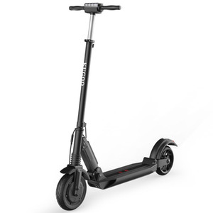 KUGOO S1 Folding Electric Scooter 350W Motor LCD Display Screen 3 Speed Modes Max 25km h - Black