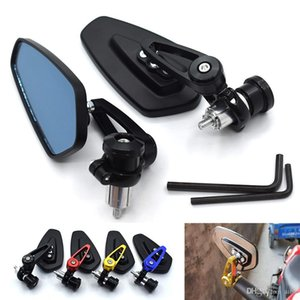 For 7  8 &#34 ;&#34 ;22mm Handle Bar Universal Pair Motorcycle Rearview Mirror Handle Bar End Side Mirrors For Ktm 125 200 390 Duke Rc 125 R