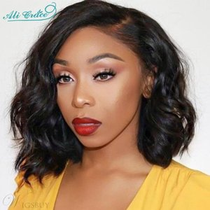 Human Hair (For Black) Lace Wigs Ali Grace Body Wave Lace Closure Wig Brazilian Closure Wig Human Hair Wigs For Women 130%