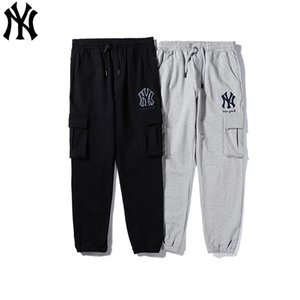 Großhandel Männer Luxus beiläufige Hosen Neue Marken Kordelzug Sport Hosen hohe Art und Weise 2 Farben Seitenstreifen Designer Hosengröße M-XXL B101518T