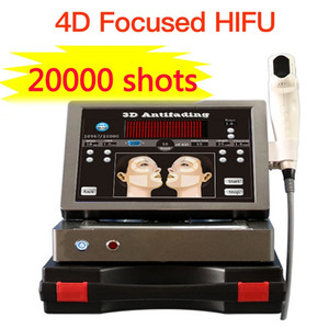 20000 shots 12 lines 3D hifu with 8 cartridges high intensity focused ultrasound face lifting skin tightening anti-wrinkle machine 4d hifu