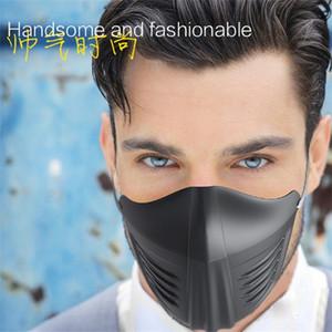 Beaucoup Stock Safe Housse de protection stéréo 3 couleurs Anti Droplet poussière et le sable moitié du visage Adultes Masque Shields Bouche civile 3jk E1