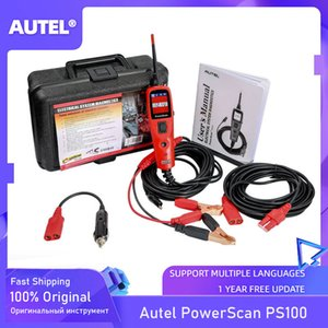 Cables de prueba Probadores probador de circuitos Sistema eléctrico de Autel PowerScan® PS100 12V / 24V Diagnóstico Herramienta eléctrica