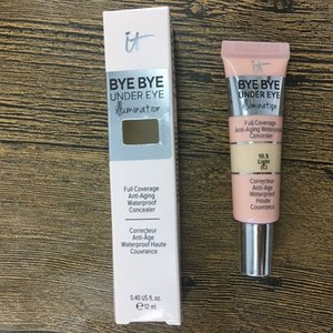 Brand Cosmetics Bye Bye Under Eye Makeup Under Eye Primer Completo Copertura Completa Impermeabile Concealer 0.4 US 12ml