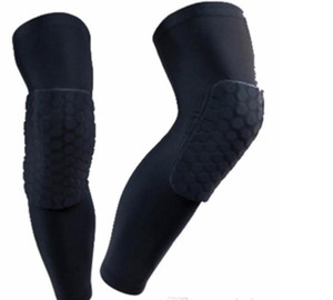 Honeycomb Sock Sport Safety Basketball Sports Kneepad Padded Knee Brace Compression Knee Sleeve Protector Knee Pads