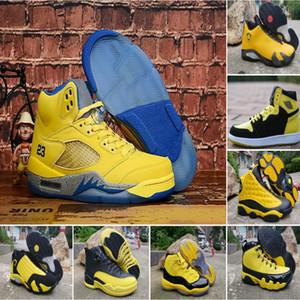 Big Sale 9 11 12 13 Chaussures de basket-ball Bumblebee Jaune Noir Chambre Trophée International Designer 9s 11s 12s 13s Hommes Sport Sneakers Designer