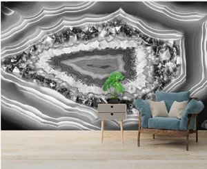 3d murals wallpaper for living room Modern light luxury marble wallpapers pattern TV background wall