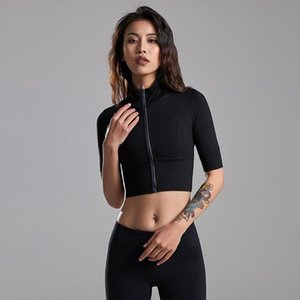 2020 Sports Tops Ladies Breathable Yoga Gym Tops Ladies Sports Shirt Short Sleeve Fitness Workout Jogging Bra