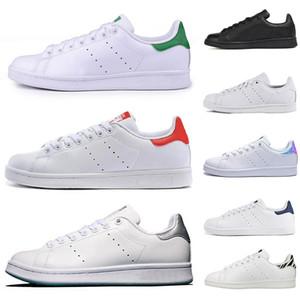 2020 Smith Rahat Ayakkabılar Ucuz Raf Simons Stan Smiths Bahar Bakır Beyaz Yeşil Siyah Moda Deri marka Kadınlar Wen Ayakkabı Boyutu 36-45