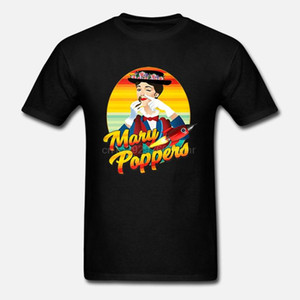 Мужчины смешные футболки мода футболка Мэри попперс Райан Лэндри и Золотая пыль сироты женщины футболка