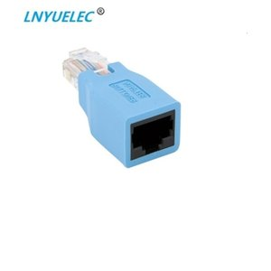 dişi Kablo çapraz Adaptör Yeni 1pcs RJ45 CAT5 CAT5E Ağ Ethernet Connector erkek