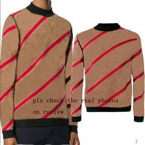 20s New Men Pullover Pullover Männer Hoodie Langarm-Sweatshirt Herren Herbst Strick Winter-Herrenkleidung