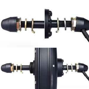 تركيب أجزاء لبافانغ الخلفية الجبهة محور العجلة أطقم سيارات تثبيت Ebike مكون المحور 12MM قفل الجوز eBike غسالة فاصل