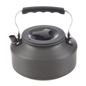 1.1L Portable Ultra-Light Camping Water Kettle Teapot Coffee Pot Ano