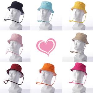 Bambini cappello dei bambini Fisherman bacino cap in primavera e cappello da sole trasparente estate feste Partito Cappelli T2C5220