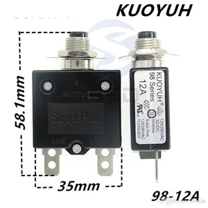 Taiwan KUOYUH 98 Series-12A Overcurrent Protector Overload Switch