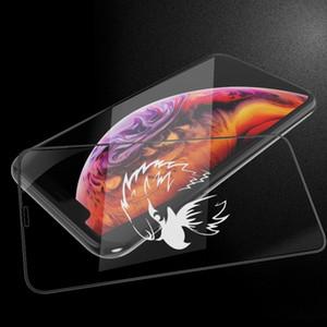Nouvelle Arrivée De Mode Haute Qualité Personnalisé Ombre Modèle En Verre Trempé Peut Personnalisé Votre Propre Protecteur D'écran Conception Pour iPhone Modèle
