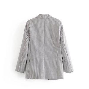 C6899-27339 WOMEN'S Dress New Products Stripes Suit Jacket