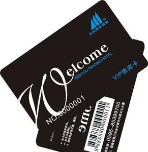 Plastik barkod özelleştirilmiş baskılı sadakat hediye pvc kart