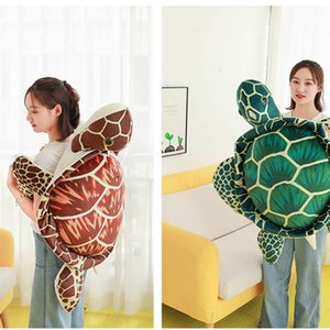 20-60cm Plush Toys Turtle Toy Simulation animals Stuffed Plush Ocean Sea tortoise soft Pillow decorative doll