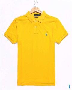 Мужской дизайнерская Polos Марка рубашка Мода Тис Топы дышащего Сыпучие Шорты рукав Крокодил Вышивка Роскошные Топы Polos 1