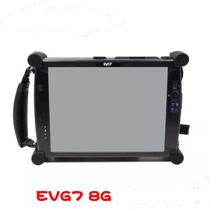 OBD2 Diagnostic Auto Tool Tablet EVG7 Laptop OBDII 8G laptop car truck diagnosis scanner tool touch screen wiithout hdd