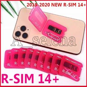 Popular RSIM 14+ V18 R sim14 + RSIM14 + R SIM 14+ RSIM 14+ desbloqueio do cartão iphone 11 pro Max IOS13 ICCID desbloquear sim RSIM14 +