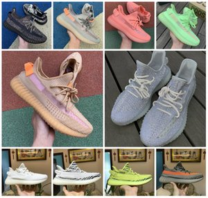 2019 Nouveau statique 3M Chaussures réfléchissantes bon marché Belgua 2.0 Semi Frozen Yellow Shoes Designer de haute qualité Hommes Femmes Entraîneur Chaussures de sport