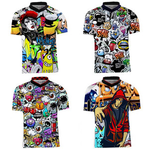 jersey cycling 2019 mtb jersey short sleeve mtb motocross shirt maillot vdownhill downhill shirt Off Ro