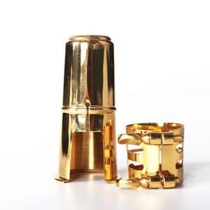 Alto saxophone metal clip + cap saxophone metal flute head accessories