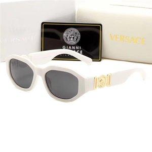 2019 moda retro kadın güneş gözlüğü polarize lens plastik çerçeve marka tasarımcı güneş gözlüğü toptan olabilir 023