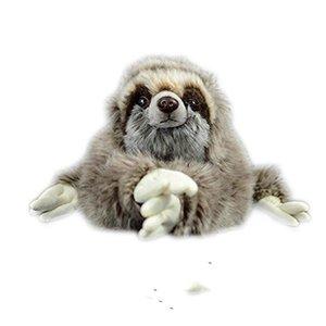 35 cm Premium Three Toed Sloth Real Life Plush Stuffed Animal Folivora Toy Gifts for Kids.